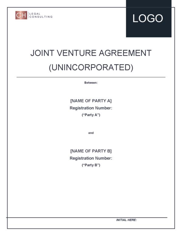 Joint Venture Agreement (Partnership)
