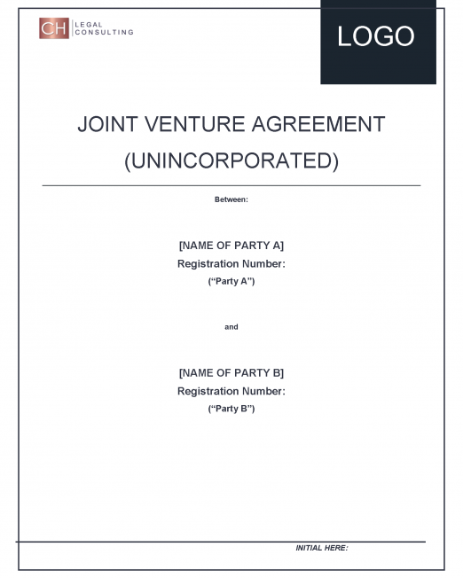 Joint Venture Agreement (Partnership)