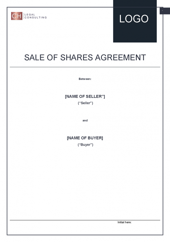 Sale of Shares Agreement