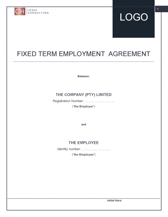 Fixed Term Employment Contract