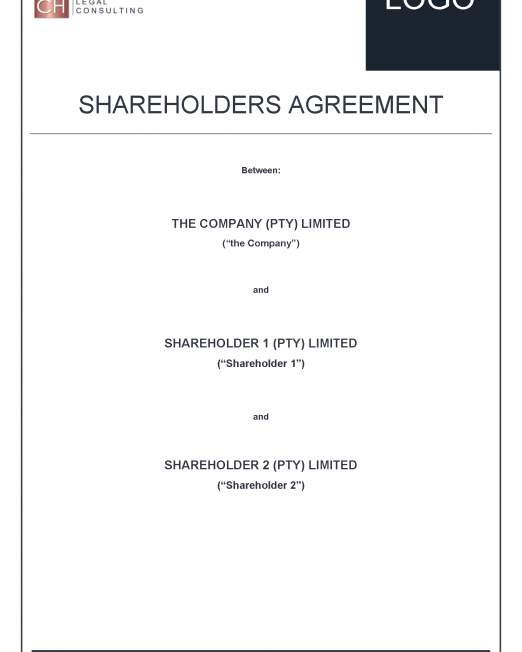 Shareholders Agreement Precedent_Page_01