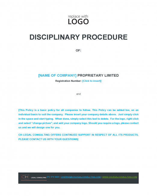 Disciplinary Procedure Precedent