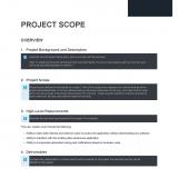 Project Scope Precedent