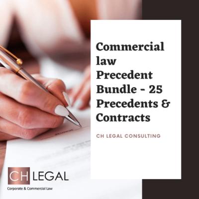 Commercial Precedent Bundle