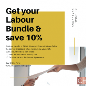 Labour Bundle S189 Notice